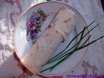 Вегетарианский рецепт буррито с огурцами