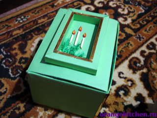 Вариант подарочной коробочки