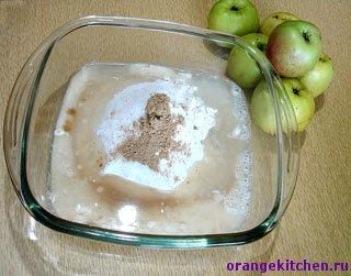 Веганское тесто для яблочного пирога