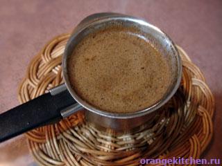 Кофе Александа Шуйского в чашке