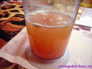 Сок для напитка с грейпфрутом и имбирем