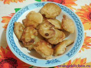 Веганский постный рецепт хрустящих картофельных наггетсов