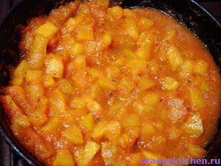 Вегетарианский рецепт тыквенного карри