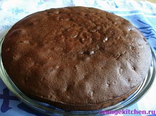 Рецепт постной шоколадно-медовой коврижки без яиц