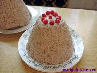 Рецепт творожной пасхи без яиц