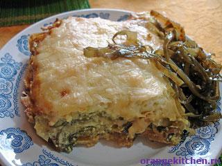 Вегетарианский рецепт картофельной запеканки с грибами