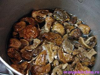 Грибы для картофельной запеканки с грибами