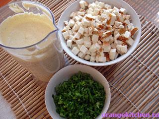 Ингредиенты для картофельной запеканки с адыгейским сыром