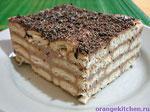 Вегетарианские десерты: ленивый чизкейк из печенья