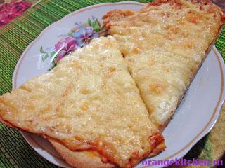 Вегетарианские рецепты с фото: Пицца Четыре Сыра