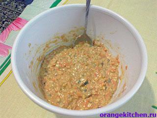 Тесто для морковного печенья без яиц