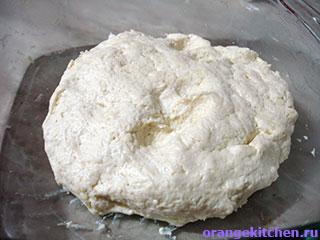 Тесто без яиц для вегетарианского сырного пирога