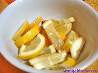 Лимон для варенья из тыквы