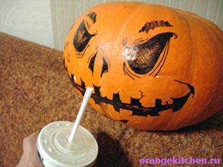 Тыква в Хэллоуин