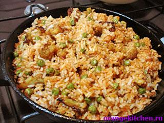 Вегетарианский рис с цветной капустой: Фото 9