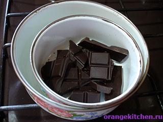 Шоколад для постного шоколадного кекса без яиц