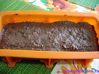 Шоколадный кекс без яиц с малиной: Фото 6