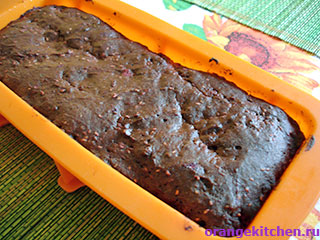 Шоколадный кекс без яиц с малиной: Фото 7
