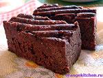 Рецепт вегетарианского шоколадного кекса без яиц