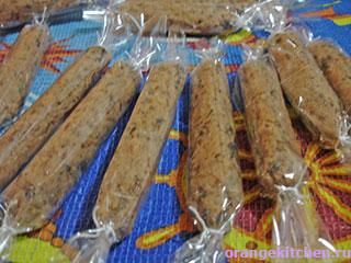 Вегетарианские сосиски из фасоли: Фото 6