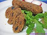 Вегетарианский рецепт сосисок из фасоли