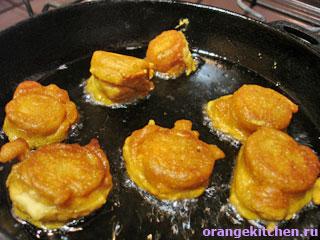 Постные сладкие пакоры с бананом: Фото 5