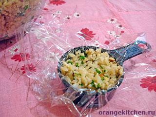 Постные рисовые шарики с кунжутом: Фото 4