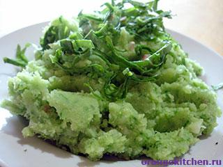 Вегетарианские рецепты с фото: Постное картофельное пюре без молока и масла