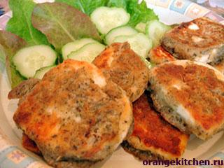 Вегетарианские рецепты с фото: Сырные наггетсы
