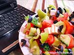 Вегетарианские рецепты: греческий салат