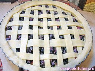 Пирог без яиц с черной смородиной: Фото 7
