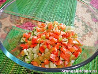 Вегетарианский салат с рисом: Фото 2