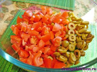 Вегетарианский салат с рисом: Фото 3