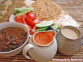 Три вегетарианских соуса