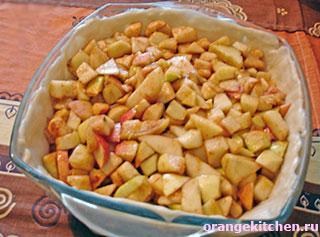Постный пирог без яиц с яблоками и корицей: Фото 5