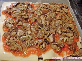 Вегетарианская лазанья и тесто для лазаньи без яиц: Фото 16