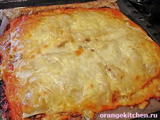 Вегетарианская лазанья и тесто для лазаньи без яиц: Фото 18