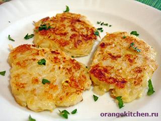 Вегетарианские рецепты с фото: драники из кабачков и картофеля