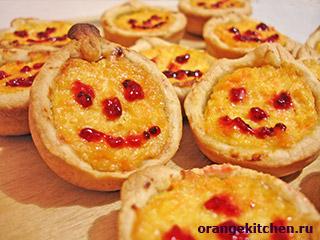 Вегетарианские рецепты с фото: тыквенные мини-пироги