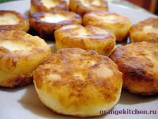 сырники на манке из творога рецепт с фото пошагово