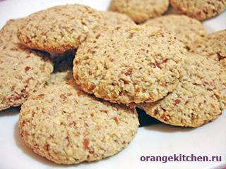 Вегетарианские рецепты с фото: миндальное печенье