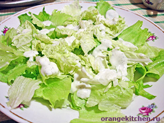 Вегетарианский салат Цезарь: Фото 5