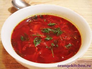 Рецепты вегетарианских супов