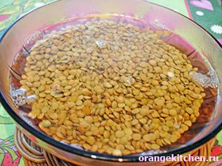 Вегетарианское жаркое из чечевицы: Фото 1
