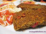 Вегетарианские овощные блюда: вегетарианское жаркое из чечевицы