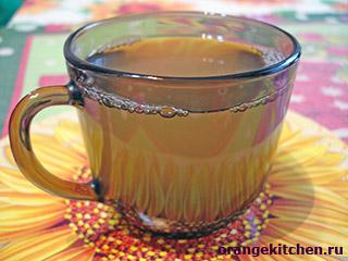 Вегетарианский имбирный чай