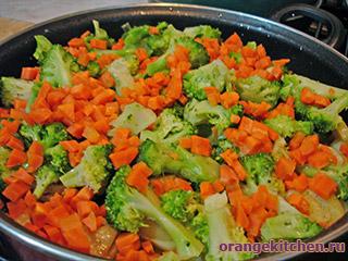 Постный картофель с брокколи и горчицей: Фото 5