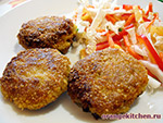 Вегетарианский рецепт постных овсяных котлет