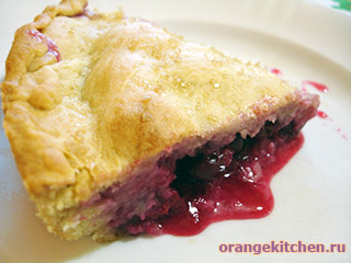 Вегетарианские рецепты с фото: постный вишневый пирог