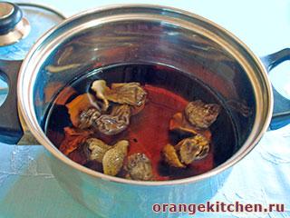 Вегетарианские макароны с грибами: Фото 2